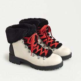 J. Crew Nordic boots in leather