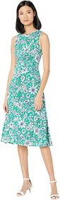 Vince Camuto Vince Camuto - Printed Jersey Knit Tw