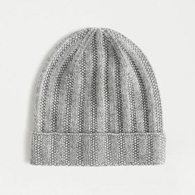 J. Crew Ribbed cashmere beanie