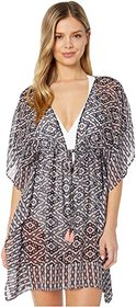 Jessica Simpson Venice Beach Chiffon Border Cover-