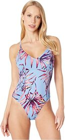 Jessica Simpson Palmy Days Camisole One-Piece