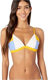 Hurley Rib Blocked Triangle Surf Top