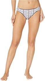Jessica Simpson Moroccan Stripe Side Shirred Hipst