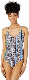 Jessica Simpson Cool Cats V-Wire One-Piece