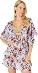 Jessica Simpson Palmy Days Border Cover-Up