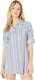 Tommy Bahama Sail Forth Boyfriend Shirt Cover-Up