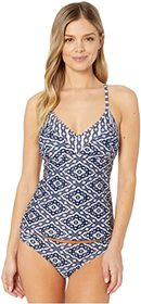 Jessica Simpson Venice Beach Crossed Back Tankini