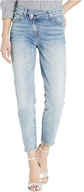 7 For All Mankind Asymmetrical Front Skinny in Ret