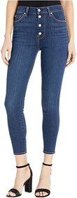 7 For All Mankind High-Waist Ankle Skinny in Fletc