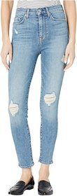 7 For All Mankind High-Waist Ankle Skinny in Sloan