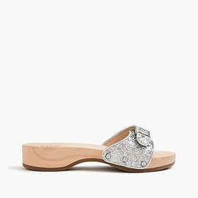 J. Crew Dr. Scholl's® for J.Crew sandals in hologr