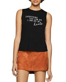 BCBGENERATION - In Heels Muscle Tank