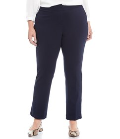 Vince Camuto Plus Ponte Ankle Pant