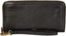 Fossil Logan Zip Around Clutch