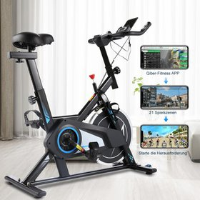 Exercise Bike, Indoor Exercise Cycling with APP an