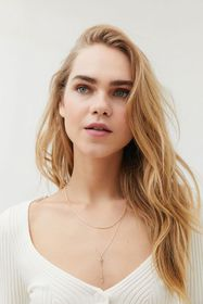 Celestial Layered Lariat Necklace