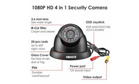 ZOSI 1080p 4in1 HD CCTV Home Surveillance Security