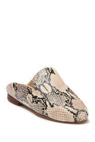 Kaanas Valencia Snake Embodssed Leather Mule