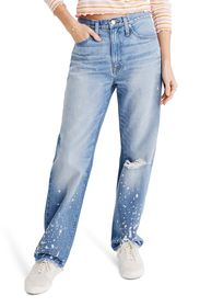 Madewell The Dadjean Bleached High Waist Jeans