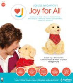 Joy for All - Companion Pet Golden Pup - Brown
