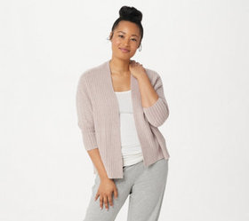 """As Is"" Barefoot Dreams CozyChic Lite Ribbed Shrug"