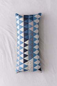 Lincoln Patchwork Print Body Pillow