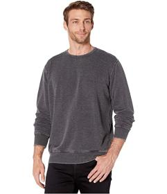Lucky Brand Burnout Fleece Crew
