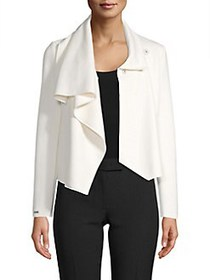 Anne Klein Asymmetrical Front-Clasp Jacket ANNE WH