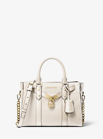 Michael Kors Nouveau Hamilton Small Pebbled Leathe