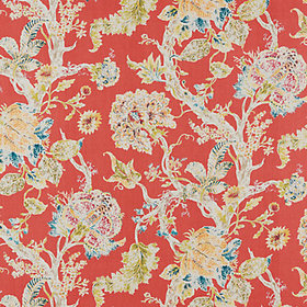 Rayna Coral Fabric by the Yard