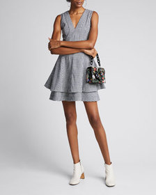 Derek Lam 10 Crosby Koren Fit-and-Flare Dress