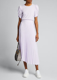 A.L.C. Arielle Pleated Midi Skirt