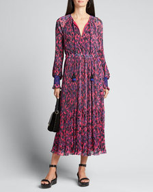 Derek Lam 10 Crosby Nemea Pleated Maxi Dress