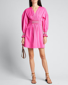 Derek Lam 10 Crosby Katerina Smocked Dress