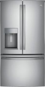 GE - 27.7 Cu. Ft. Fingerprint Resistant French-Doo