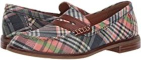 Sperry Seaport Washed Plaid Penny Loafer