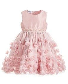 Toddler Girls Soutache Dress