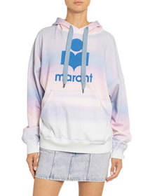 Etoile Isabel Marant Mansel Hooded Logo Sweatshirt