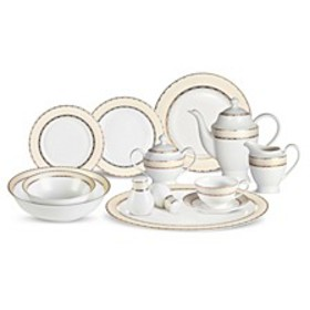 Margaret 57-PC Dinnerware Set, Service for 8