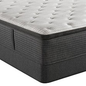 "BRS900-C-TSS 16.5"" Plush Pillow Top Mattress Set -"