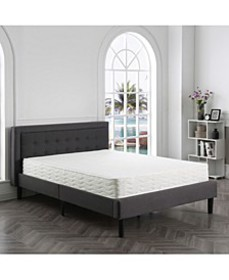 "Ana 8"" Cushion Firm Tight Top Mattress- Full, Matt"