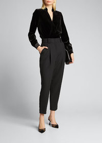 A.L.C. Colin High-Rise Ankle Pants
