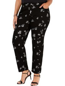MICHAEL Michael Kors Womens Plus Izzy Rose Printed