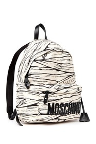 MOSCHINO Marbled Logo Backpack