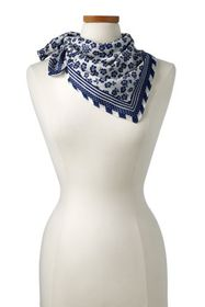 Lands End Women's Bandana Neckerchief