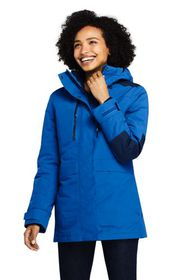 Lands End Women's Super Squall 3 in 1 Jacket