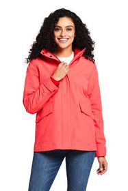 Lands End Women's 3 in 1 Squall Rain Jacket