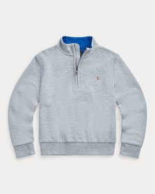 Ralph Lauren Cotton Quarter-Zip Pullover