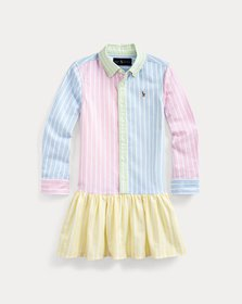 Ralph Lauren Cotton Oxford Fun Shirtdress