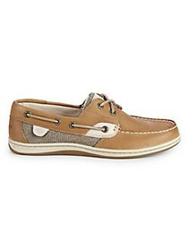 Sperry Koifish Boat Shoes LINEN OATMEAL